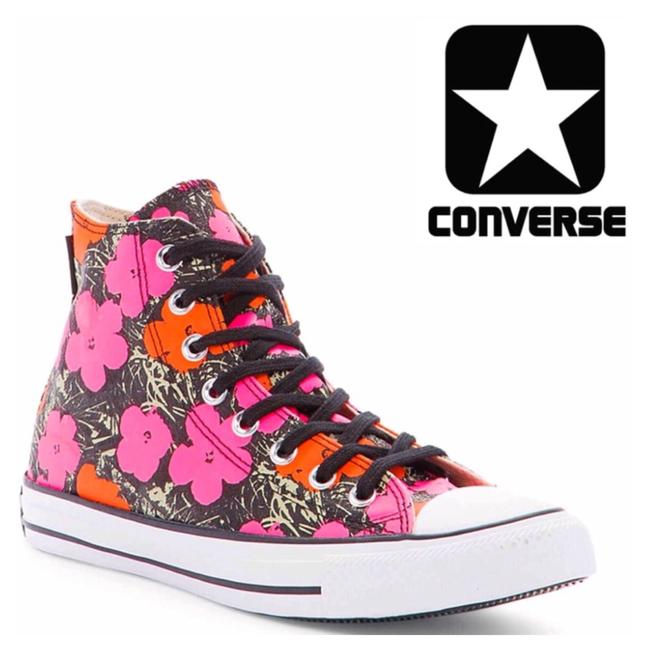 Item - Multicolor Stylish Classic High Top Andy Warhol Sneakers Size US 9 Regular (M, B)