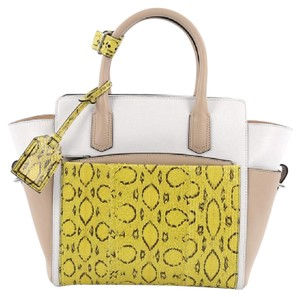 Reed Krakoff Python Tote in Tricolor