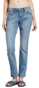 Lucky Brand Mid-rise Straight Leg Jeans-Medium Wash