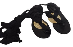 Sonia Rykiel black with gold Sandals