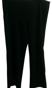 Gloria Vanderbilt Casual Comfortable Straight Pants Black
