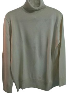 Evan Picone Wool Silk Neck Sweater