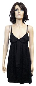 Mark & James by Badgley Mischka short dress Black Lace Bow & on Tradesy