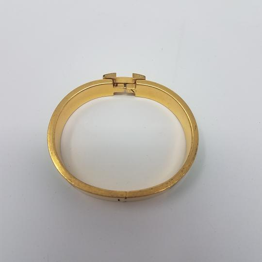 Hermès 18K yellow gold-plated Hermes Narrow Clic Clac H 2011 O Image 5
