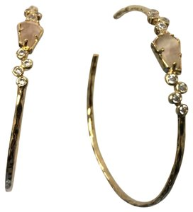 Anthropologie NEW!!! Anthropologie Gold Hoops Earrings NWT