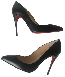 Christian Louboutin Pigalle Louboutin 36.5 Classic Louboutin Pigalle Follies Black Pumps