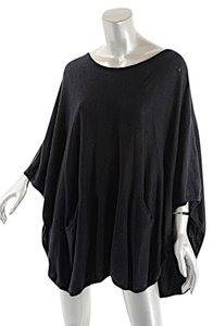 Other Planet Pima Cotton Poncho Sweater