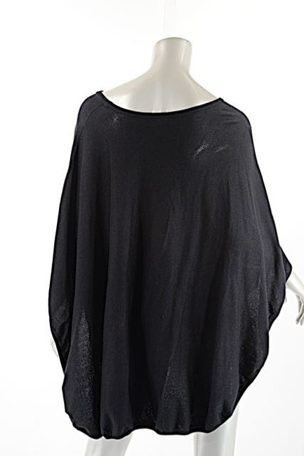 Other Planet Pima Cotton Poncho Sweater Image 3