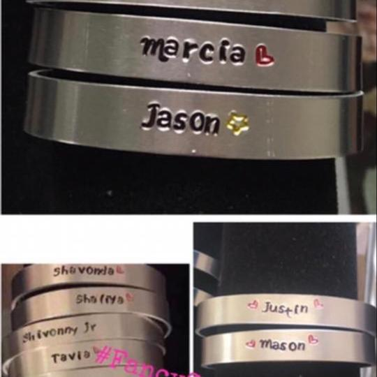 Other Personalized cuffed bracelet Image 3