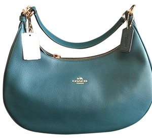 Coach Leather Crossbody Shoulder Bag