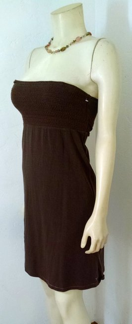 American Eagle Outfitters short dress brown Size Small Summer on Tradesy