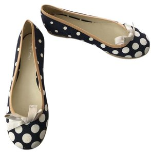Miu Miu Espadrille Ballet Cotton Canvas Polka Dot Casual Flats