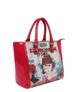 Nicole Lee #xochil #nicolelee #flower #garden #pink Tote in Multicolor