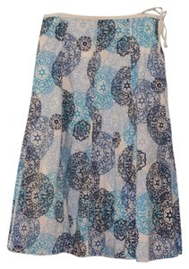 Talbots Maxi Skirt Turquoise Blue, Royal Blue, Navy Blue, White