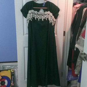 Jordan Fashions Deep Green Hunter Green Bridesmaid Dress Dress