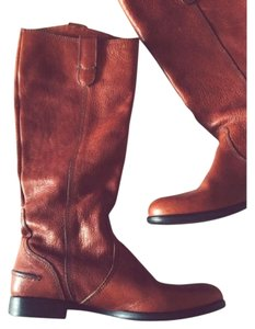 Madewell Archive Riding Tan Leather Brown Boots