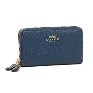 Coach Double Zip Coin Case - F57855