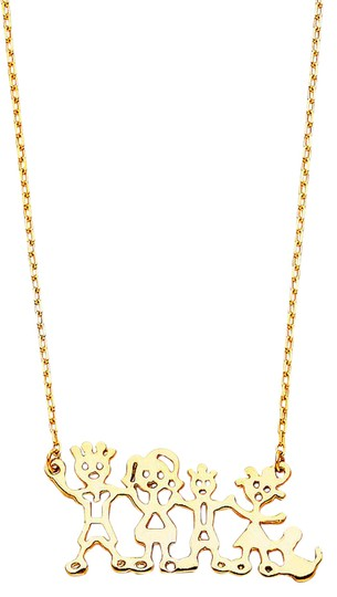 Preload https://img-static.tradesy.com/item/21076335/yellow-gold-14k-our-family-necklace-171-charm-0-1-540-540.jpg