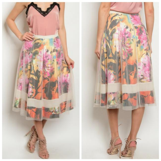 Preload https://img-static.tradesy.com/item/21076403/soieblu-multicolor-spring-floral-tulle-layer-fully-lined-sexy-colorful-midi-skirt-size-4-s-27-0-0-650-650.jpg