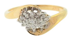 Other Diamond Cluster Cocktail Ring in 14k Yellow Gold