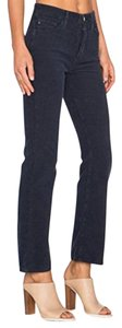 AG Adriano Goldschmied Straight Pants Dark NAVY