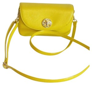 Tory Burch Saffiano Leather Robinson Robinson Cross Body Bag