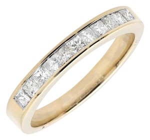 Other One Row Princess Diamond Engagement Wedding Ring Band 0.50ct.