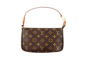 Louis Vuitton Pochette Brown Clutch