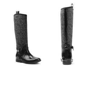 Michael Kors Black/White Boots