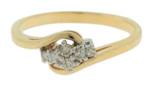 Other Antique Diamond Cluster Ring in 14k Yellow Gold