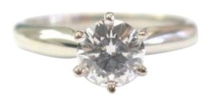 Other Fine Round Cut Diamond Solitaire Ring Ideal F-VS2 .52CT