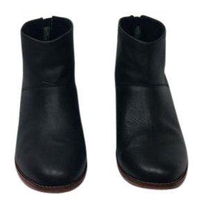 TOMS Leather Black Boots