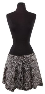 Louis Vuitton Cheetah Mini Skirt Brown & White