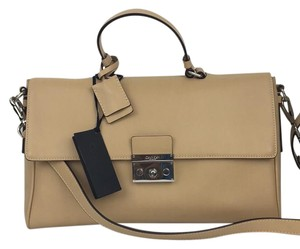 Calvin Klein Collection Satchel in Tan