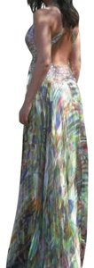 Multicolor Maxi Dress by Jovani #jovani #prom #promdress #gown #pageant