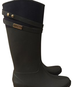 Tommy Hilfiger army green Boots
