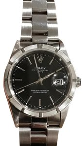 Rolex Oyster Perpetual Date w/ Black Dial - 35 MM