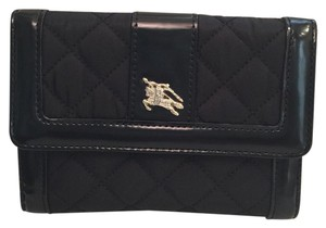 Burberry quilted wallet