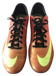 Nike Cleats Soccer Orange/Yellow Athletic