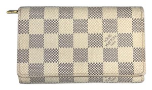 Louis Vuitton Porte Monnaie Tresor Monogram Canvas Wallet