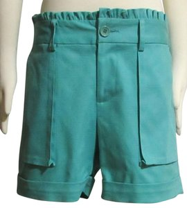 Jade by Melody Tam Stretch Size 8 Dress Shorts Turquoise