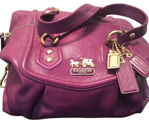 Coach purple Travel Bag
