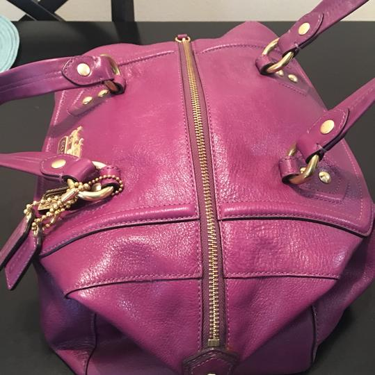 Coach purple Travel Bag Image 2