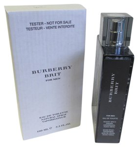 Burberry BURBERRY BRIT Men's 3.3 ounce Spray Tester With Cap