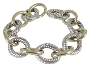David Yurman David Yurman Sterling Silver 18K 7.75
