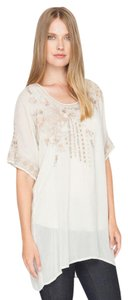 Johnny Was Boho Eclectic Vintage Tunic