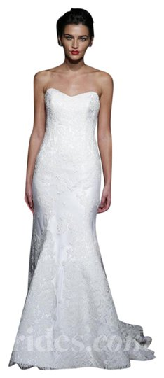 Preload https://img-static.tradesy.com/item/21078075/anna-maier-couture-white-60-cotton-25-rayon-15-lace-ulla-lea-strapless-gown-feminine-wedding-dress-s-0-2-540-540.jpg