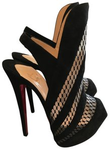 Christian Louboutin High Heels Nwt Black Boots