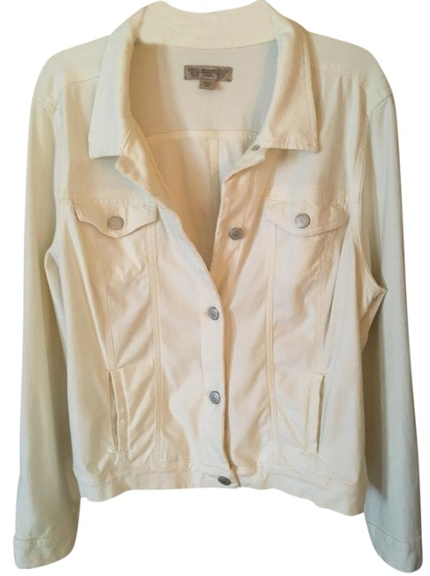 Item - Cream Doubloons Jacket Size 16 (XL, Plus 0x)