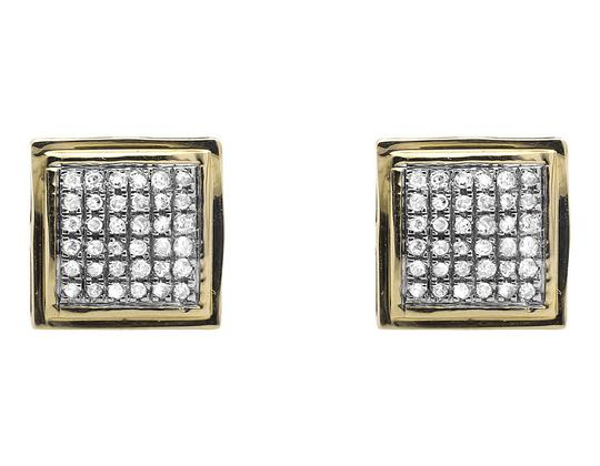 Preload https://img-static.tradesy.com/item/21078228/10k-yellow-gold-curved-puff-square-kite-diamond-stud-25ct-earrings-0-2-540-540.jpg